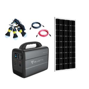 Bluetti AC100 [ONE Panel] Solar Generator Kit + 1