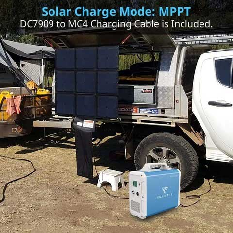 Bluetti EB240 Solar Generator 2400Wh