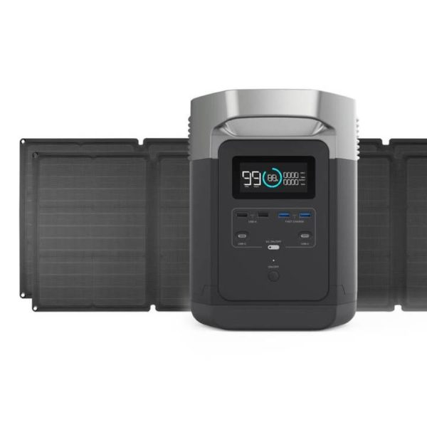 DELTA 1300 Packages 2x 110W Solar Panel