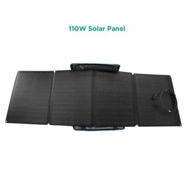 Delta 1800W And 4 Folding Solar Panels 110 Watt