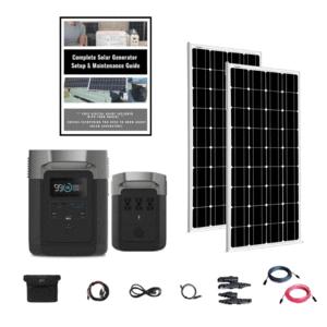 EcoFlow Delta 1800W / 1300wH [Double Kit] + 2