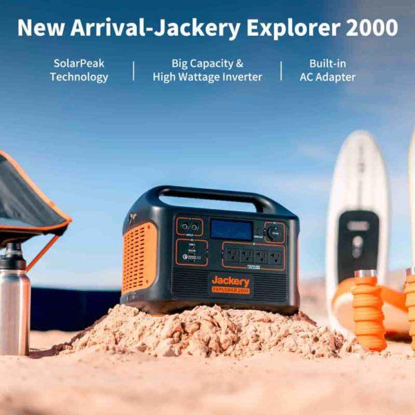 Jackery Explorer 2000 Power Station