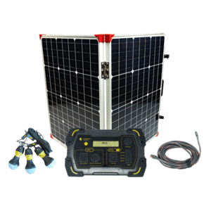 Lion Energy 500 Solar Generator Kit + 1 x
