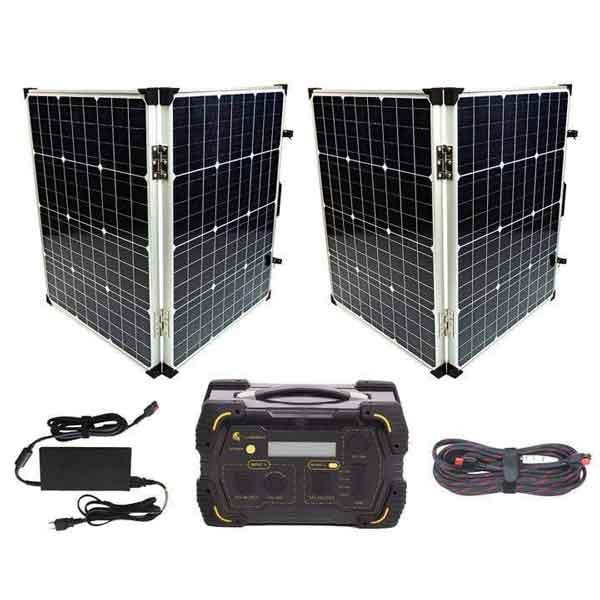 Lion Energy LT 500 Solar Generator Kit Ultimate