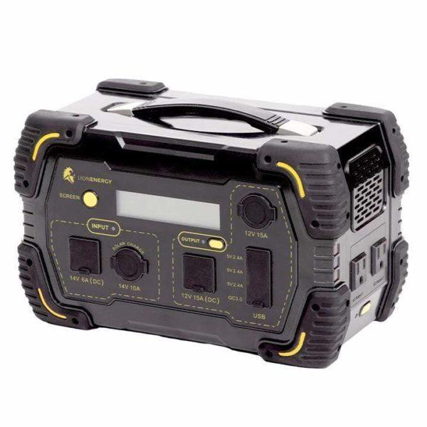 Lion Energy Safari LT 500 Portable Solar