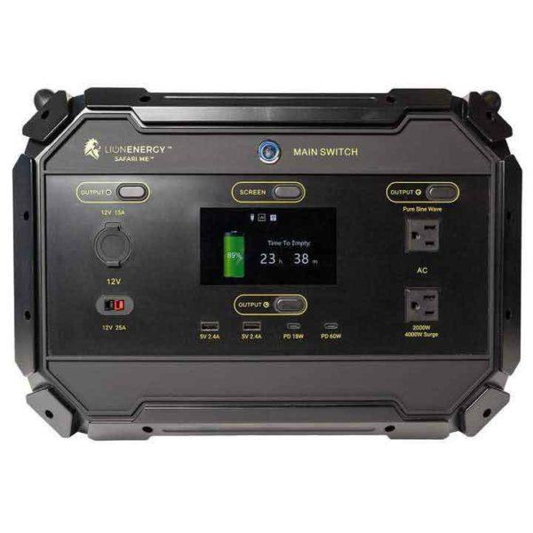 Lion Safari ME 5000wH Solar Generator