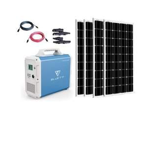 MaxOak Bluetti EB150 Solar Generator [FOUR] Panel Kit |