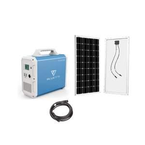 MaxOak Bluetti EB150 Solar Generator [SINGLE] Kit + 1