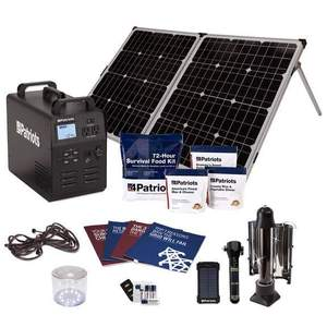Patriot Power Generator 1800 | 4Patriots 652wH Solar Generator