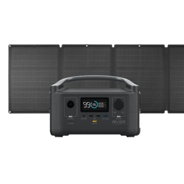 RIVER 600 And 110W Solar Panel