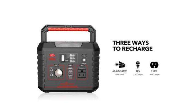 ROCKPALS 330W Portable Solar Generator Kit