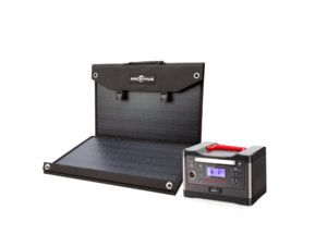 ROCKPALS 540Wh Portable Solar Generator Kit + 1 x