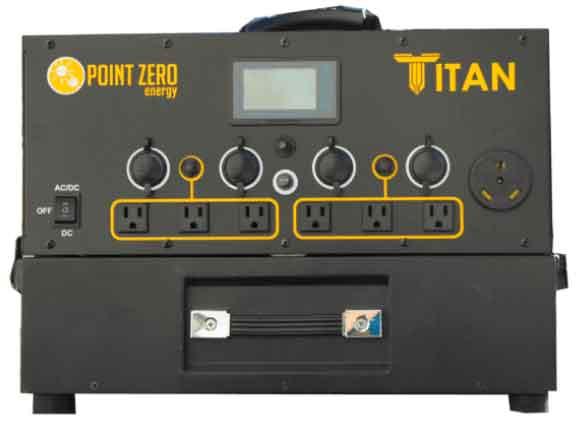 Titan Solar Generator 15 Watt Solar Panels