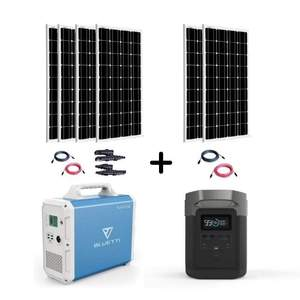 Ultimate [Emergency Back Up] Solar Generator Kit | Bluetti