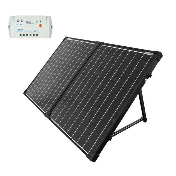 100W Foldable Solar Panel Kit