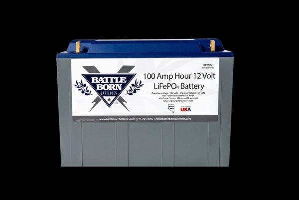 BattleBorn 100Ah 12V LiFePO4