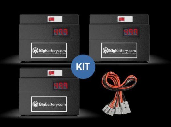 BigBattery KIT 48V BEVR - NMC -