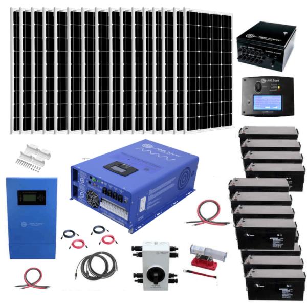Complete Off-Grid Solar Kit 3