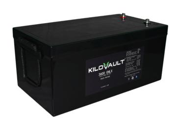 KiloVault 3600 CHLX 3600Wh 12V 300Ah Lithium