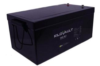 KiloVault 3600 HLX 3600Wh 12V 300Ah Lithium