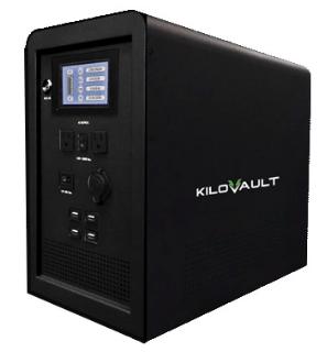 KiloVault RESQ 1500 Emergency Backup Solar Power