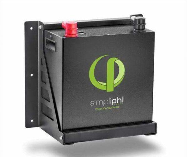 Simpliphi Brackets PHI 2.7 kWh Wall Mount