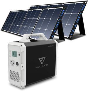 BLUETTI EB150 1500Wh + 2 Pcs Solar Panel 200W