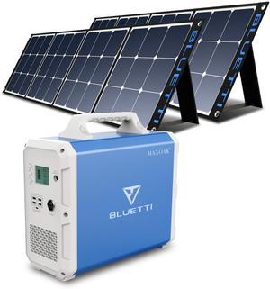 BLUETTI EB240 2400Wh + 2 PCS Solar Panel 200W