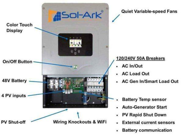 Sol-Ark 12K 120/240/208V