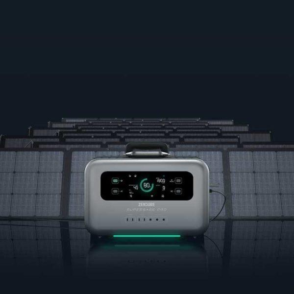SuperBase Pro solar panel